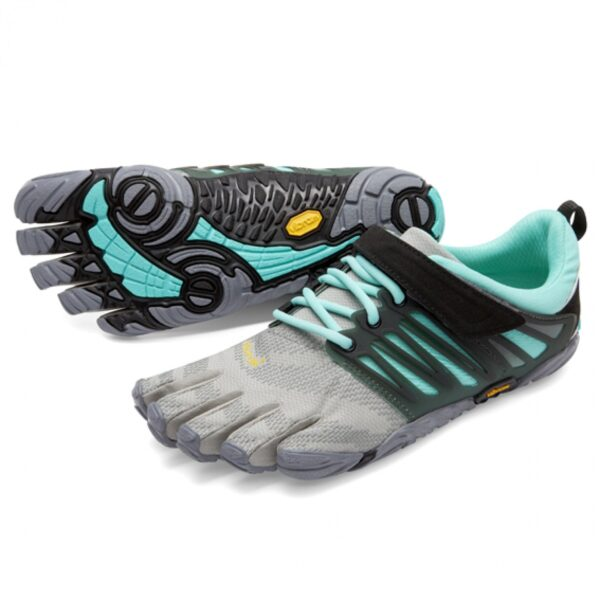 Vibram Fivefingers V-Train grey/black/aqua