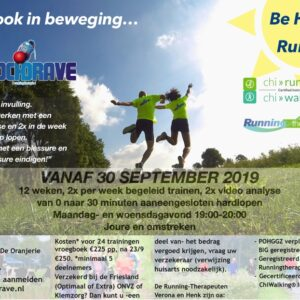 flyer runningtherapie groep 30 sept 2019